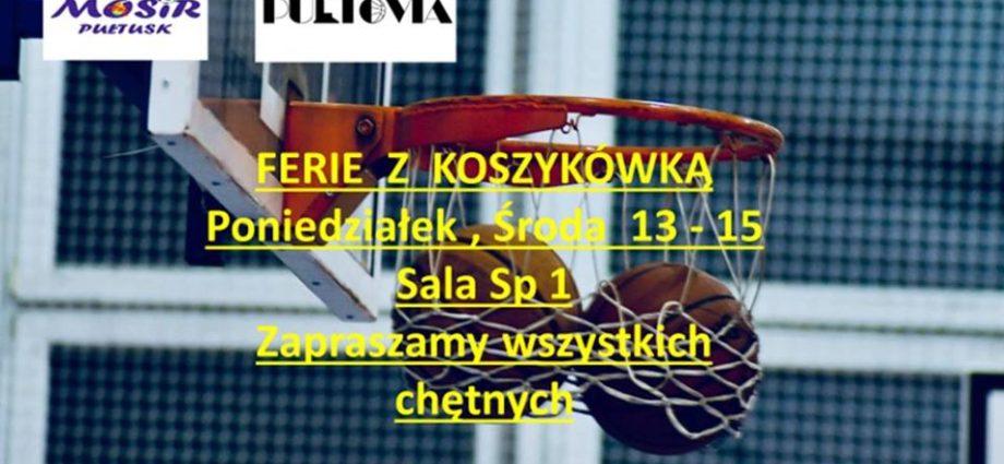 ferie z koszykówką zaproszenie