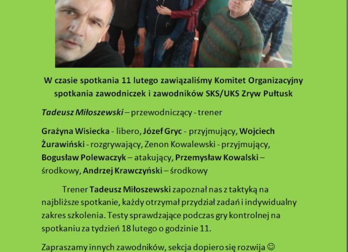 ZRYW Pułtusk informacje