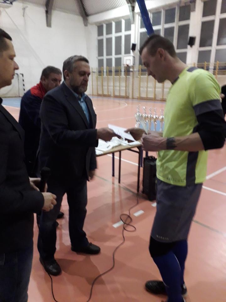 wręczanie dyplomów i nagród przez Burmistrza Miasta Pułtusk