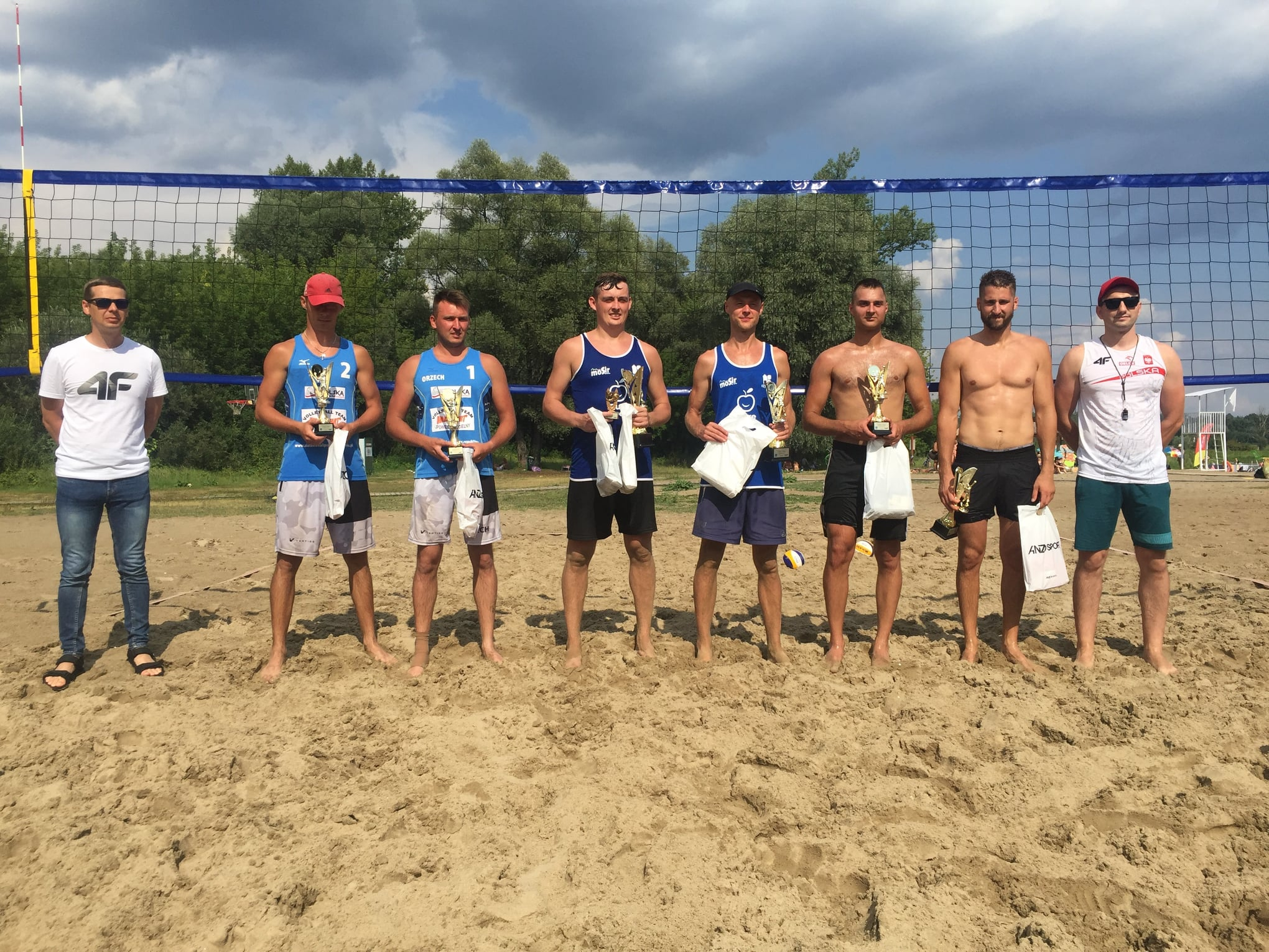 VIII Turniej  Siatkówki Plażowej o Puchar Burmistrza Miasta Pułtusk
