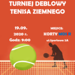 Plakat Tenis ziemny